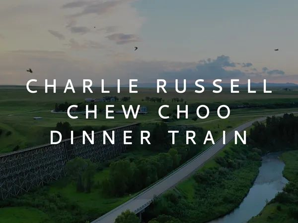 Charlie Russell Chew Choo Dinner Train