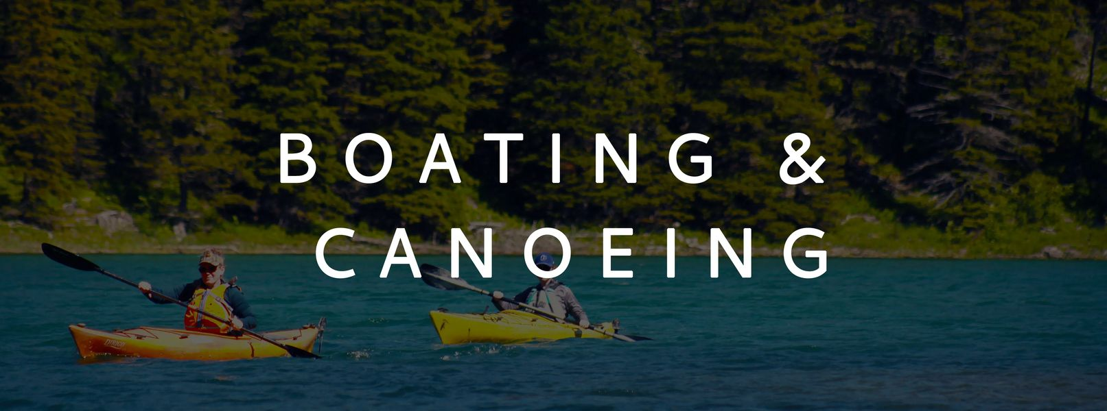 Boating and Canoeing in Central Montana